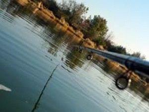 Ловля на фидер на течении