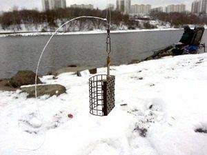 Зимняя оснастка на фидер
